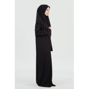 Premium Gebedskleding - Zwart (met zip)
