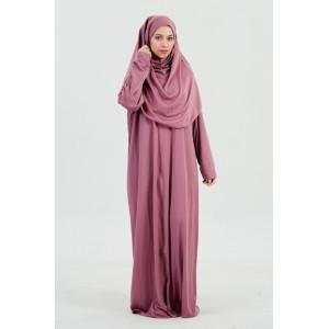 Premium Gebedskleding - Paars (met zip)
