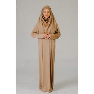 Premium Gebedskleding - Camel (met zip)