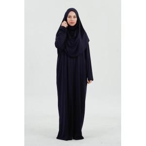 Premium Gebedskleding - Blauw (met zip)