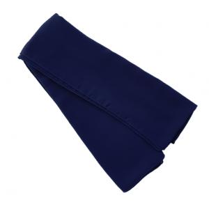 HS Premium Chiffon 150 x 150 - 28 Donkerblauw